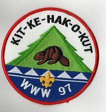 """OA Jacket Patch 97 Kit-Ke-Hak-O-Kut J-5 FDL w/bar; """"WWW 97""""; 152mm; PB 400992"""