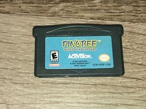 Pinobee Wings of Adventure Nintendo Game Boy Advance GBA Authentic