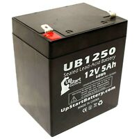 Set of 4 12V, 18Ah, 18000mAh, NB Terminal, AGM, SLA Bladez Electric Scooter: TravelMate Battery Replacement UB12180 Universal Sealed Lead Acid Battery
