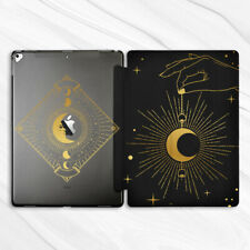 Gold Gothic Moon Goth Girly Case For iPad Pro 9.7 10.5 11 12.9 Air Mini 2 3 5