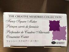 Creative Memories Punch Unicorn and starburst set of 2  Retired
