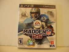 Madden NFL 25 For PlayStation 3 PS3 Football Complete