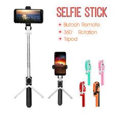 Hand Bluetooth Selfie Stange Tripod Stick Stativ für iPhone X 8 Samsung S9 Note9