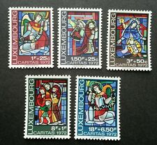 Luxembourg Stained Glass Windows 1972 Art Culture (stamp) MNH