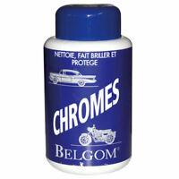 Nettoyant Polish BELGOM chrome Auto Moto 250ml NEUF