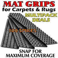 MAT Grips x 4 -  Non Slip Slide Anti Skid Carpet RUG Hallway Runner Gripper