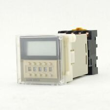 Time Relay On Delay Solid State H3CA-A 24 to 240V 11Pins SPDT DIN Track Mounting