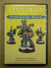 How to Paint Miniatures DVD Volume 15 Thousand Sons
