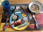 Thomas+the+Train+Plate%2C+bowl%2C+cup%2C+fork%2C+spoon%2C+placemat+Dinnerware+set++ZAK