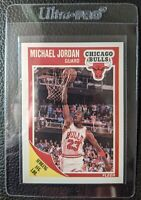 1989 FLEER #21 MICHAEL JORDAN CHICAGO BULLS HOF