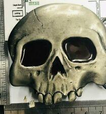 Vintage 1976 Buckle Skull Metal Belt Buckle 14/2