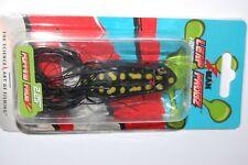 "zman bass hollow body frog leap frogz popping  2.25""  topwater black knight"