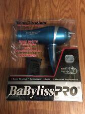 BaByliss Pro Nano Titanium 2000 Watt Blow Dryer