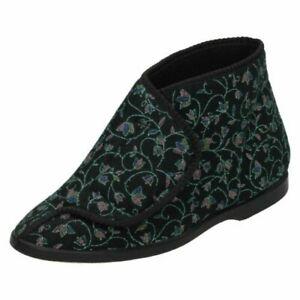Ladies Spot On Slipper 'Boots'