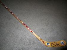 KEVIN SHATTENKIRK St Louis Blues SIGNED Hockey Stick w/COA Winter Classic