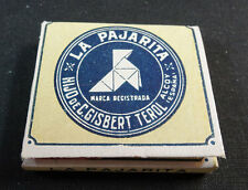 ANTIQUE CIGARETTE ROLLING PAPER LA PAJARITA EARLY 1900 TOBACCIANA COLLECTIBLE 17