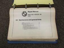 1976-1983 BMW 630CSi 633CSi Service Repair Manual 1977 1978 1979 1980 1981 1982
