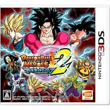 New 3DS Dragon Ball Heroes Ultimate Mission 2 Import Japan