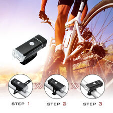2Pcs /Set Bike Light Front and Rear USB Rechargeable LED Bicycle Riding Safely