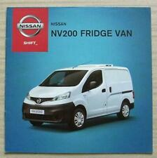 NISSAN NV200 FRIDGE VAN Sales Brochure Feb 2013 #99999-53152