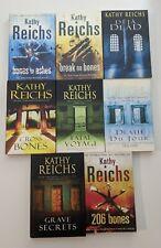 Kathy Reichs Large Paperback Books Lot X 8 Temperance Brennan