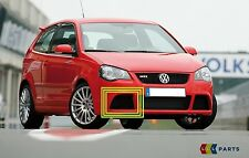 NEW GENUINE VW POLO GTI CUP 05-10 FRONT BUMPER LOWER RIGHT O/S GRILL TRIM BLACK