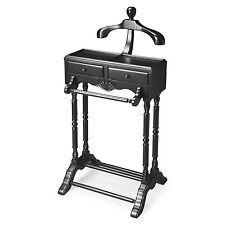 GENTLEMANS VALET STAND - BLACK LICORICE - MENS VALET RACK - FREE SHIPPING*