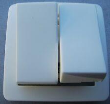 2 modules Aluminium 23485 Arnould Bticino Axolute Poussoir 10A Axial