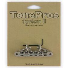 TonePros Tune-o-Matic ponte chitarra abr-1 per Gibson Les Paul Cromato