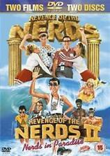 REVENGE OF THE NERDS 1 & 2 NERDS IN PARADISE 2 DISC BOX SET FOX UK RG2 DVD L NEW