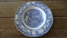 Crown Ducal Colonial Times Lunch Plate Paul Revere's Ride 8 7/8 inches