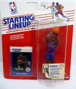 STARTING LINEUP 1988 Isiah Thomas Basketball Figure Detroit Pistons MOC