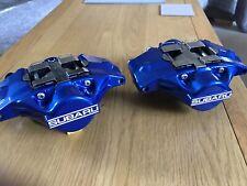 Subaru Impreza 2 pot arrière étriers (reconstruits) Subaru Blue Fit LOTS