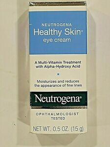 NEUTROGENA Healthy Skin Eye Cream Multi Vitamin 0.5 Oz New
