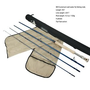 Aventik Fly Fishing Rods IM10 Carbon 4sec Tip Fast Action Saltwater Fly Rods