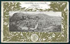 Varese Viggiù Tramvia Elettrica PIEGA cartolina QQ6885
