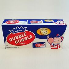 Original Dubble Bubble Chewing Gum with Comic Wrapper - 3.5 oz Theater Box
