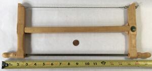 "12"" Ulmia Bow Saw Beech Handles Mint"