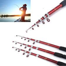 Canna Da Pesca Allungabile Pescare Sport Ergonomica Mulinello Opzionale 245