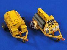 Verlinden 1/32 US Navy Carrier Deck Liquid Oxygen and Liquid Nitrogen Carts 2724