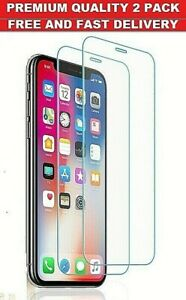 New Screen Protector for iPhone 11,11 Pro,11 Pro Max Tempered Glass Protection