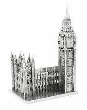 Fascinations Metal Earth Big Ben Tower ICONX London Laser Cut 3D Model