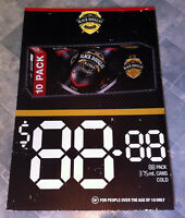 Vintage Black Douglas & Cola 10 Pack Corflute Advertising Display Sign