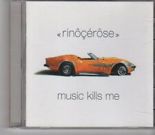 (FX726) Rinocerose, Music Kills Me - 2002 CD