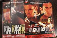 KICKBOXER 4 AGRRESSOR & 5 THE REDEMPTION RARE OOP DELETED CULT KUNG FU DVD FILMS