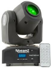 Beamz Panther 40 LED Moving Head Spot lumineux