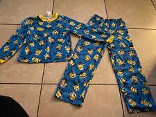 Despicable Me Minions Flame Resistant 2 Piece Pajama Pj Set Boys Size 8
