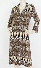 Charlie Brown Polyester Animal Print Dresses for Women