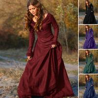Vintage Mujer Medieval Traje Victoriano Renacimiento Gótico Ropa
