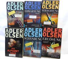 Adler Olsen Verachtung / Erbarmen / Erwartung / Schändung/ Erlösung/ Das Alphabe